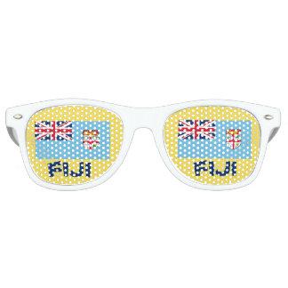 Fidschi-Spaß-Party-Gläser Retro Sonnenbrillen