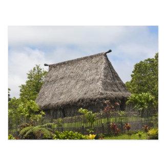 Fidschi, Viti Levu Insel. Polynesisches Postkarte