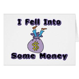 Fiel in Geld Karte