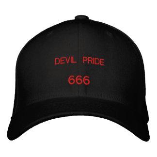 FIERTÉ DE DIABLE, 666 CASQUETTE BRODÉE