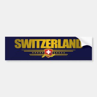 """""""Fierté suisse """" Autocollant De Voiture"""
