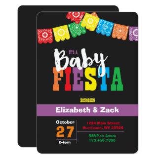 Fiesta-Babyparty-Einladung Karte