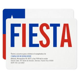 Fiesta-Chile Karte