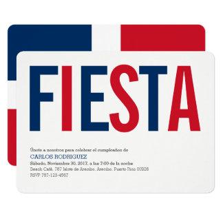 Fiesta-Dominikanische Republik Karte