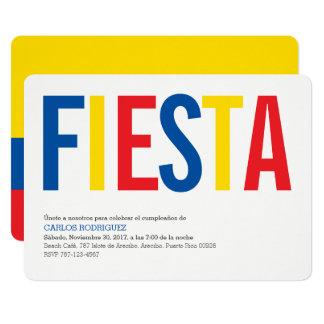 Fiesta Ecuador 12,7 X 17,8 Cm Einladungskarte