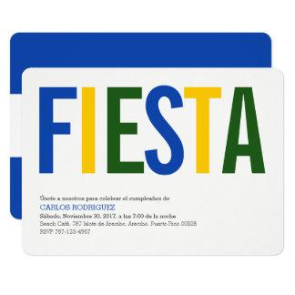 Fiesta El Salvador Karte