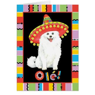 Fiesta Eskie Grußkarte