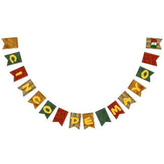 Fiesta-Flaggen-Fahnen-Flaggen Cinco Des Mayo Wimpelketten