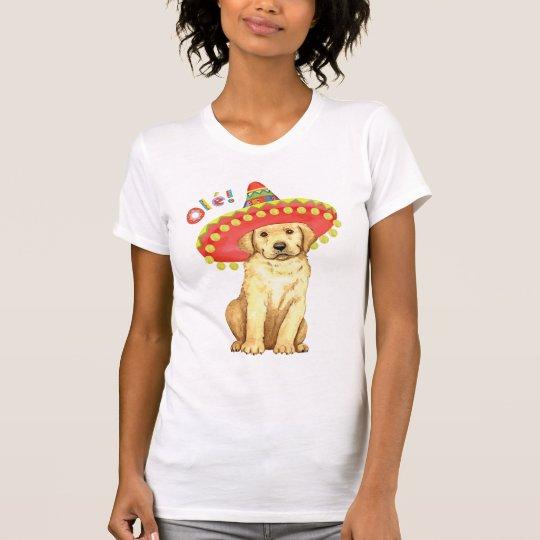 Fiesta-gelber Labrador T-Shirt