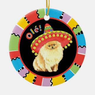 Fiesta-Spitz Keramik Ornament