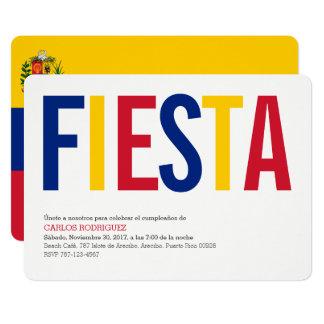 Fiesta Venezuela 12,7 X 17,8 Cm Einladungskarte