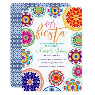 Fiesta-Verlobungs-Duschen-Einladung 12,7 X 17,8 Cm Einladungskarte