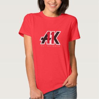 Fièvre de Krieger - le T-shirt des femmes