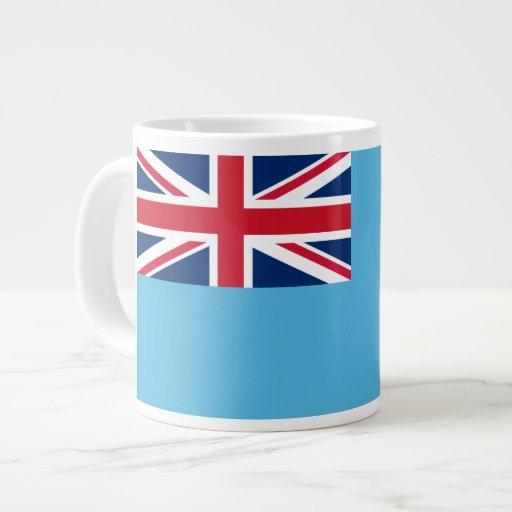 Fijian-Flagge Extragroße Tasse
