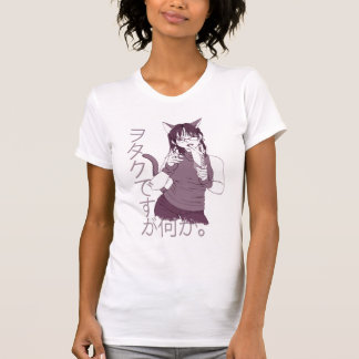 Fille de chat d'Otaku T-shirt