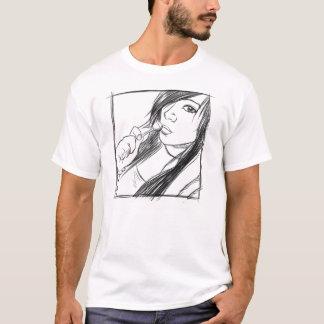 Fille d'Emo T-shirt