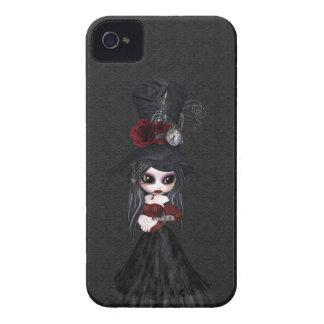 Fille mignonne Blackberry de Steampunk Goth audaci Coque Case-Mate iPhone 4