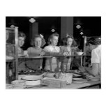 Filles de lycée, les années 1940 cartes postales