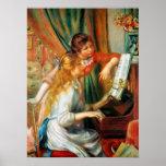 Filles de Renoir à l'affiche de piano