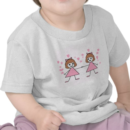 Filles jumelles t-shirt