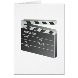 Film Clapperboard Karte