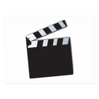 Film Clapperboard Postkarte