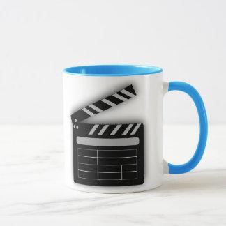 FILM CLAPPERBOARD Wecker-Tasse Tasse