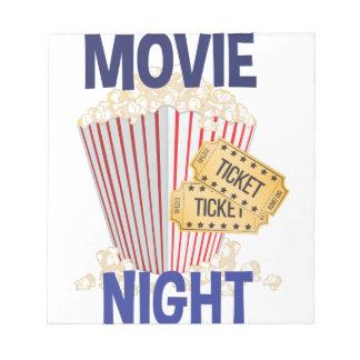 Film-Nacht Notizblock