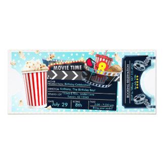 Film-Nachteinladung Karte