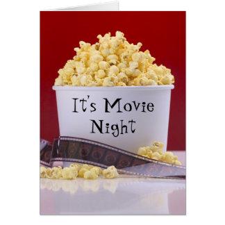 Film-Nachtkarte Karte