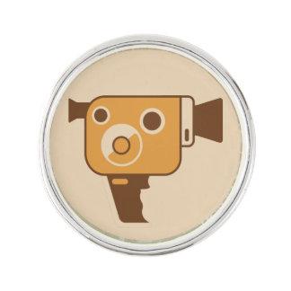 Filmemacher-Film-Kamera Resersabzeichen