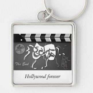Filmklatschen-Crew Hollywood Schlüsselanhänger