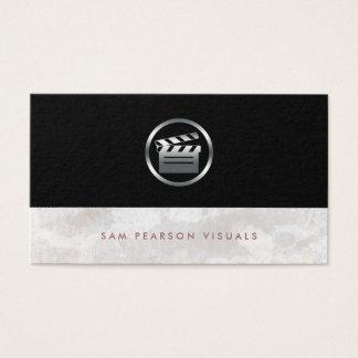 Filmregisseur BoldSilver Clapperboard Ikone Visitenkarte