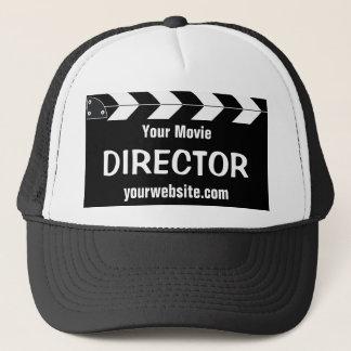 Filmregisseur Truckerkappe