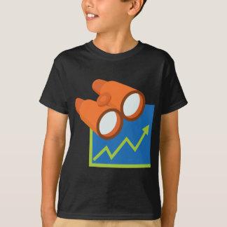 Finanzberichts-Prognosen-Ikone T-Shirt