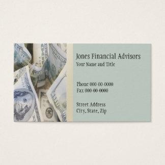 Finanzplaner-Visitenkarte Visitenkarte