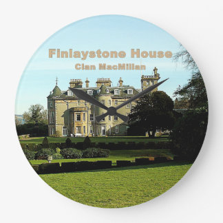 Finlaystone Haus Große Wanduhr