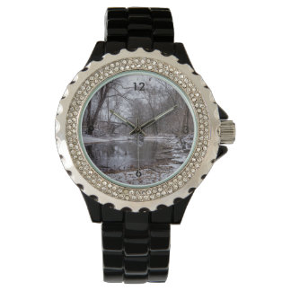 Finley Winter-Schnee Armbanduhr