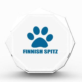 FINNISCHE SPITZ-HUNDEentwürfe Auszeichnung