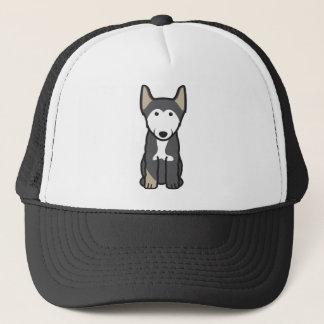 Finnischer Lapphund HundeCartoon Truckerkappe