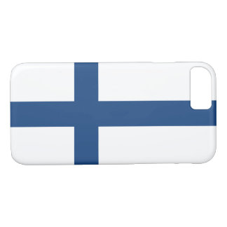 FINNLAND-FLAGGE iPhone 8/7 HÜLLE