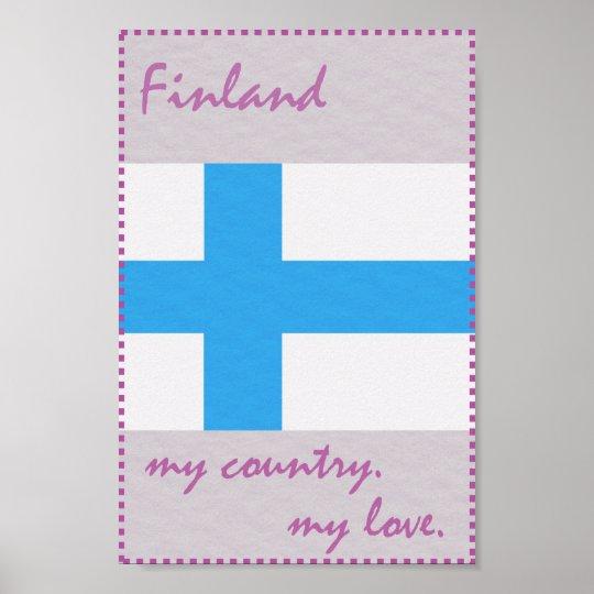 Finnland mein Land meine Liebe Poster