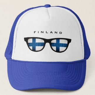 Finnland schattiert kundenspezifischen Hut Truckerkappe