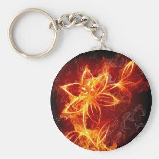 Fire Flower Porte-clé