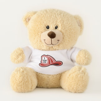 Firefighter / Fire Dept Custom Teddy Bear