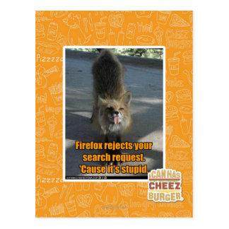 Firefox Ausschüsse Postkarte
