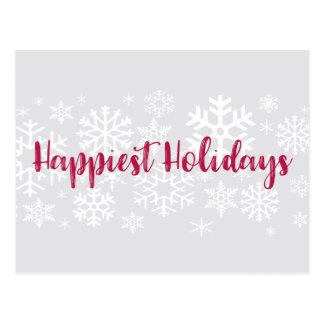 Firmenkundengeschäft-glücklichste Postkarte