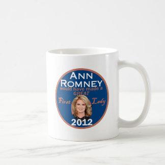 First Lady Ann Romney Kaffeetasse