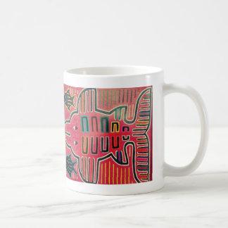 FISCH Kunst Inka Wiedergabe Kaffeetasse