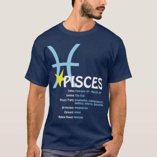 Fisch-Merkmal-Dunkelheits-T - Shirt